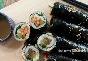 꼬마김밥:남겨진 반찬의 화려한 외출
