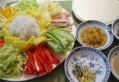 [각종 채소와 과일이 가득한 월남쌈] 효리네민박에서 박보검이 먹는 것 보고 만든 베트남 요리.