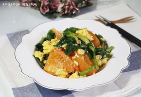 토달볶 간편한 아침식사 토마토달걀볶음