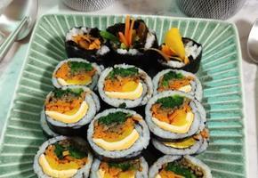 야채듬뿍 치즈김밥, 봄나들이 도시락 준비해야죠??
