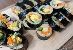 달걀김밥/계란김밥/스크램블김밥:김밥도 이렇게 부드러울 수 있다