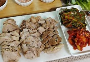 돼지고기 수육 삶는법(보쌈까지 만들어먹어요~)