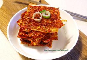 칼슘왕 뱅어포 조림 양념 구이 요리 만들기 조리법(만드는 법)