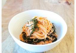 간단한 점심으로~ 톳비빔국수, 해초비빔국수,다이어트식사