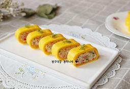 스팸계란말이 만드는 법, 봄과 어울리는 예쁜 계란요리 ♥