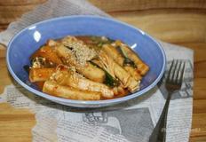 쫀득하니 맛있는 현미떡 국물떡볶이