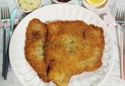 딸기잼 찍어 먹는 돈가스, 오스트리아 슈니첼 만들기