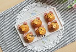 귀여운 캐릭터도시락 : 돼지유부초밥 만드는 법