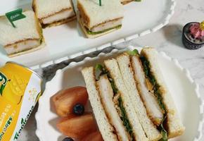 세상 간단한 돈까스 샌드위치 만들기