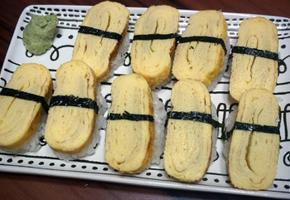 일본식 계란말이 만들기, 계란초밥 만드는법
