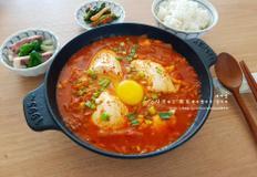 김치 순두부찌개 끓이는 법
