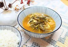 김치보리콩나물국, 시원칼칼한 국물맛
