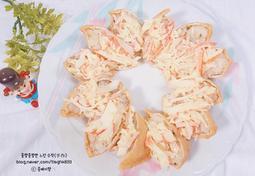 크래미 유부초밥 (도시락, 크래미 요리)