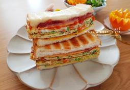 엄마표 간식 - 달걀 토스트