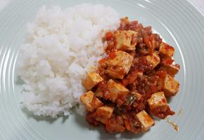 두반장없이 매콤한 마파두부밥 만들기