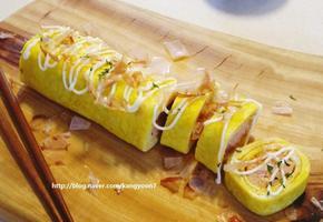 명란젓 반찬(요리) : 명란 마요네즈 계란말이 하는방법