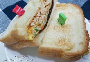 차승원샌드위치, 길거리표 샌드위치 만들어보기!