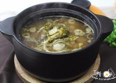 냉이된장찌개 끓이기~