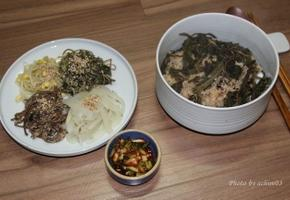 건강한 별미밥 곤드레나물밥