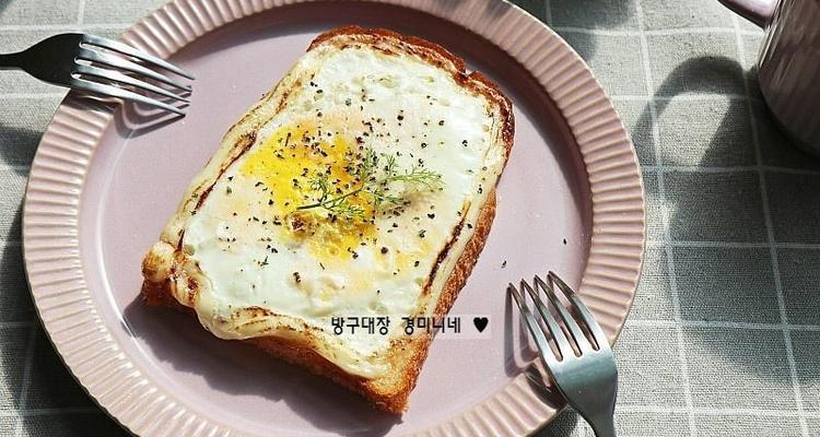 초간단 마약토스트 만드는 법, 5분 안에 완성되는 맛있는 계란마요토스트 ~