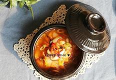 건새우 양배추국 만드는 법, 고춧가루 넣고 얼큰하게 끓인 간단한 국물요리