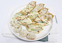 유부초밥 만들기 , 크래미를 더해 맛이 두배~