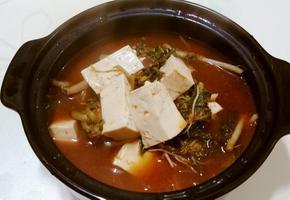 [쉽게 만드는 요리]초간단 냉이 된장찌개
