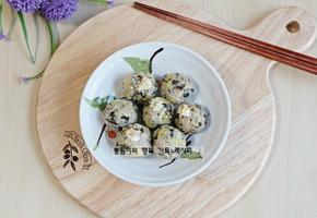 날치알 주먹밥 만드는 법 : 성장기 아이들에게 좋은 날치알요리 ~