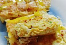 계란말이 잘말기 레시피 + 미숫가루 = 브런치 (ft.피클머스터드)
