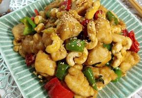 단짠 닭고기 캐슈넛 볶음(닭가슴살, 닭안심 상관없어요.)