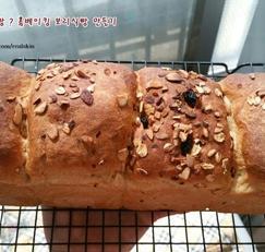 옛날 제과점 보리빵 ? 홈베이킹 보리식빵 만들기