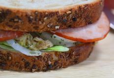 연어캔을 만드는 간단한 샌드위치