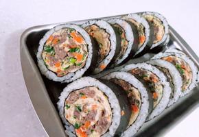 육우 김밥, 불고기계란말이 김밥, 도시락