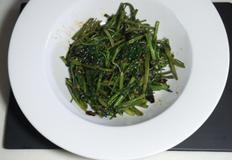 공심채 (모닝글로리) 볶음 레시피, 동남아 현지 맛, 열대채소, 속이 뚫려 있어 공심채.