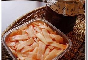 냉면 비빔양념장의 비법은 무엇일까요?