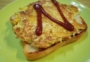 브런치 토스트 만들기, 간단하고 든든한 아침식사