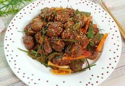 야채 듬뿍 순대볶음(간단한 순대볶음양념장)