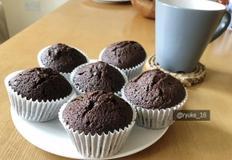 [영국주방] 진한 달콤함이 생각날 때, 초코 브라우니 머핀(Chocolate Brownie muffin)