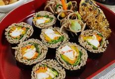 여름 별미 메밀 김밥(메밀소바도 특별하게 먹기)