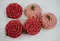 카네이션 상투과자 꽃과자 만들기!