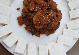 식사도되는 술안주 두부김치 만들기