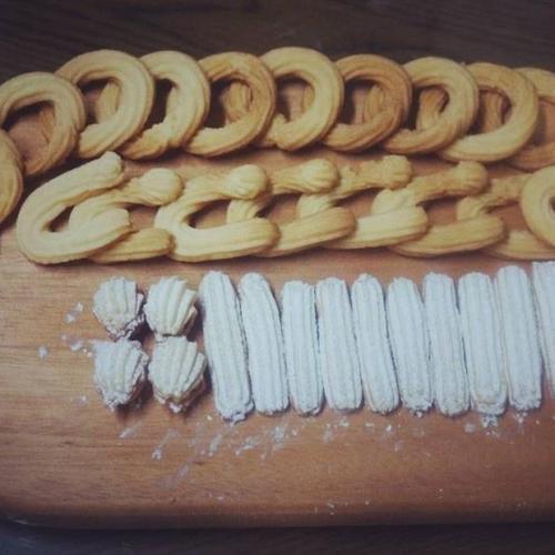 버터링 쿠키, 킵펠쿠키, 쉘쿠키, 잼쿠키, 바닐라스틱쿠키