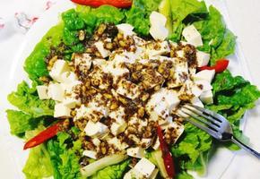 『최고의 다이어트 식단』 두부 샐러드 만드는 법( & 들깨 드레싱)