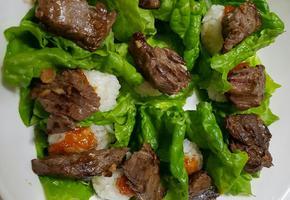 소고기(육우)초밥 도시락.우리육우