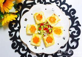 백종원 두부부침 계란 묻혀 맛있게 만들기
