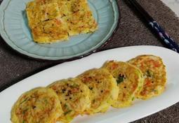 크래미전, 맛살전(밀가루 없이 계란으로만 부치는 밑반찬, 도시락반찬)