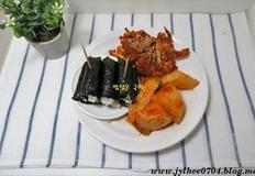 봄피크닉 충무김밥 황금레시피