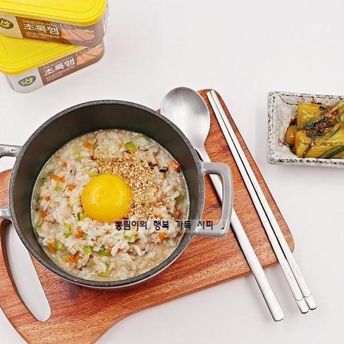 햄야채죽 만드는 법, 스팸으로 만든 아침식사 대용 :)