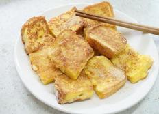 간단한 아침으로 식빵 계란토스트