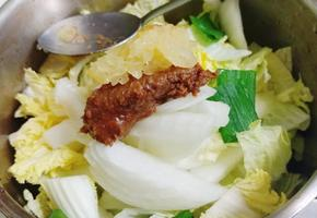 배추된장국 끓이는법 : 보쌈용 알배추 후처리~ 와우^^